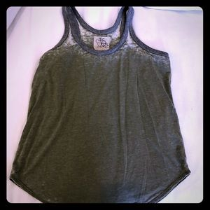 CHASER ARMY GREEN TANK TOP